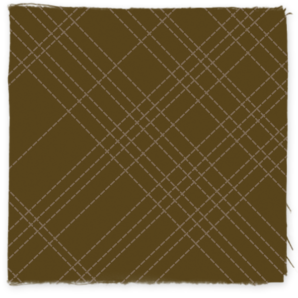 Brown Quilted Pick-Me Plaid